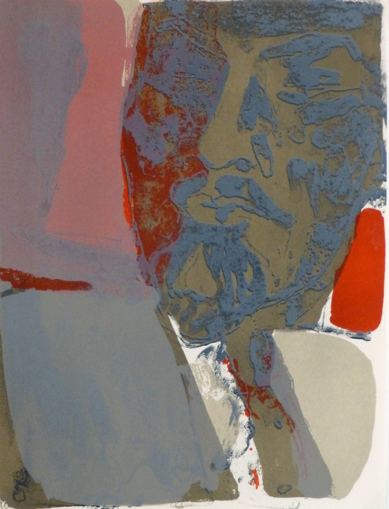 Paul Guiramand Abstract Print - French Abstract - Lenin