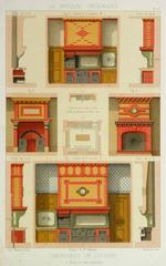 French Kitchen Fireplaces