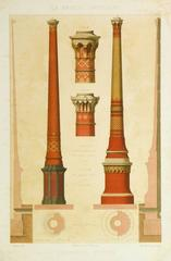 Antique French Factory Chimneys