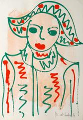 French Abstract Portrait
