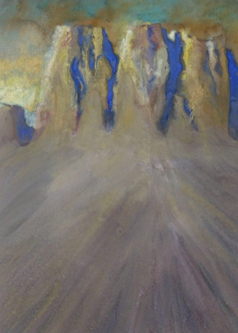 Unknown Abstract Painting - Desert Landscape Painting