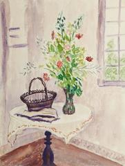 French Watercolor - Sunny Nook