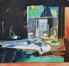 Abstract Watercolor - Modern Living