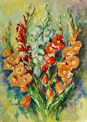 Still Life - Gladiolus Bouquet