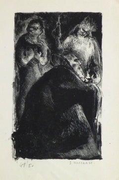 Lithograph - The Trio
