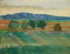 French Landscape - Les Baux de Provence