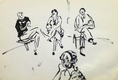 French Pen & Ink - Art Class