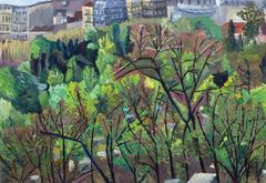 French Oil Landscape - City Park