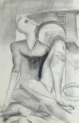 Abstract Pencil Figure