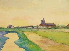 Provence Landscape Painting