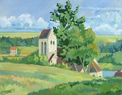 Country French Landscape