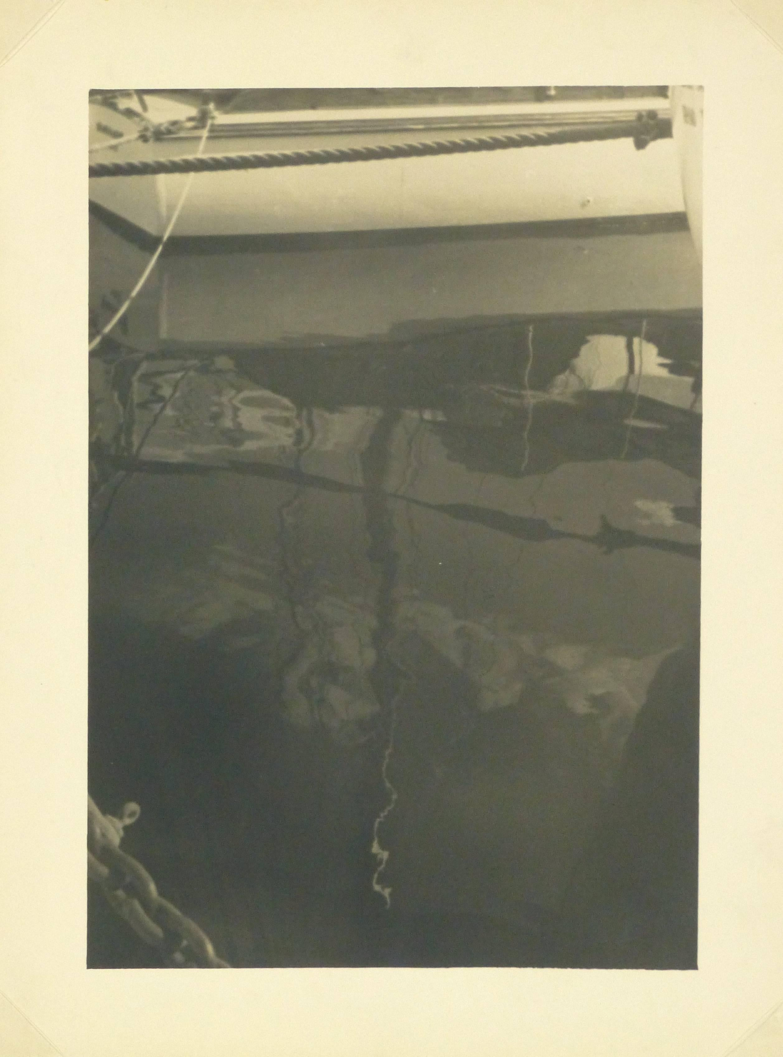 Vintage French Silver Gelatin Photograph - Boats