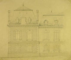 French Architectural Drawing