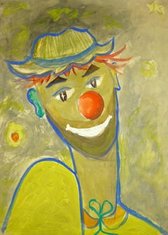 Clown in Yellow