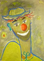 Clown in Yellow
