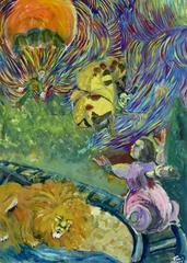 Colorful Surrealist Dreamscape