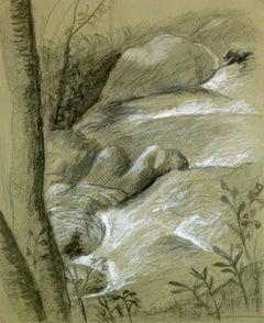 Drawing of Creek