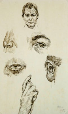 Drawing of Facial Details