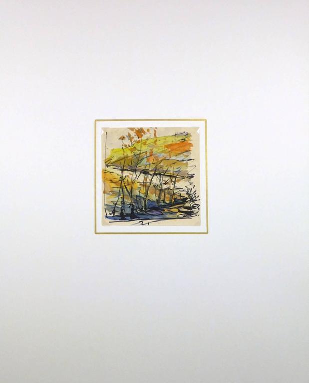 Paysage d'Automne - Brown Landscape Art by Unknown