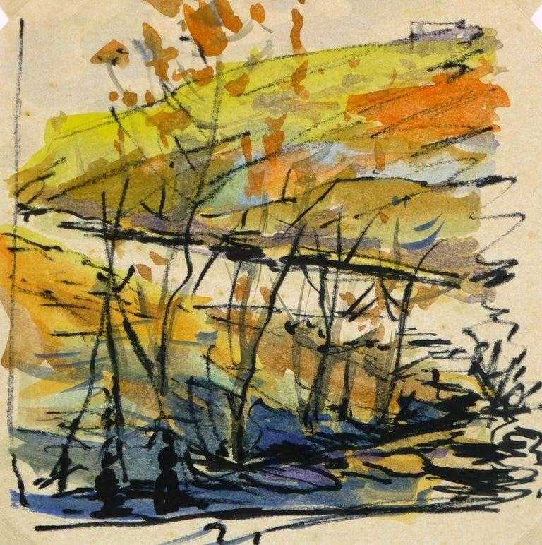 Unknown Landscape Art - Paysage d'Automne
