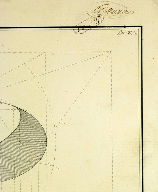 Unknown antique architectural drawing for sale at 1stdibs for Architectural drawings for sale