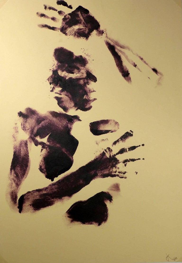 Kismine Varner Nude Painting - Body Art