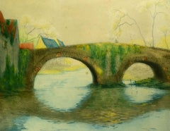 Stone Bridge over River