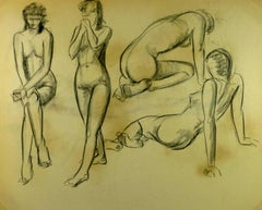 Four Nude Figures