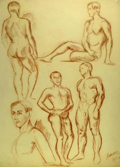 Sketches of Male Nude