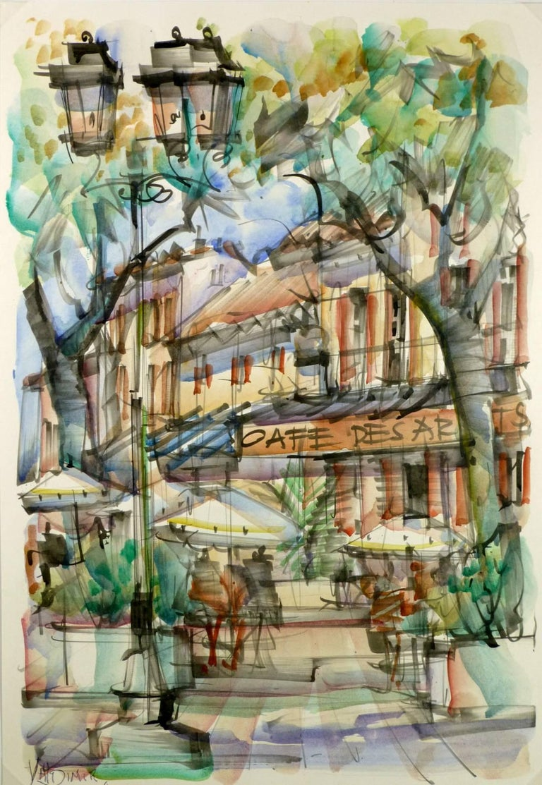 Unknown - St. Tropez Cafe 1
