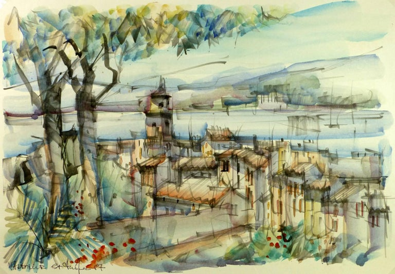 Unknown - View of St. Tropez 1