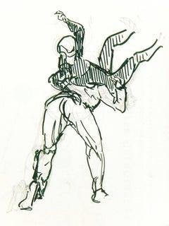Wrestling Sketch