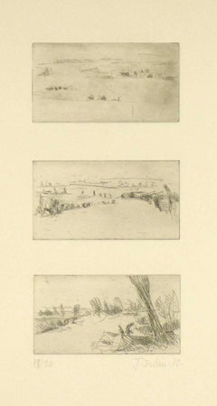 French Landscape Etchings