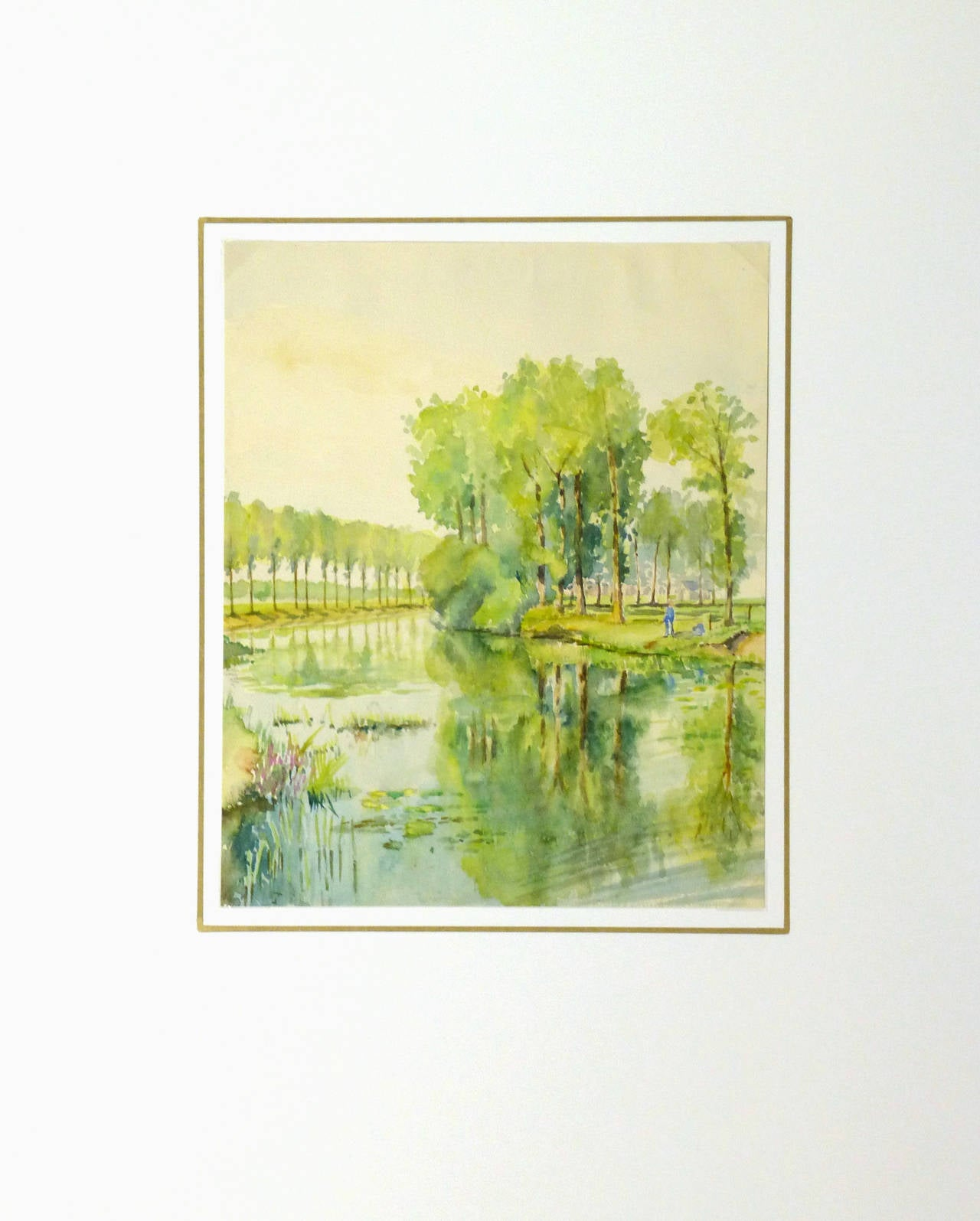 Vintage French Landscape Painting 1