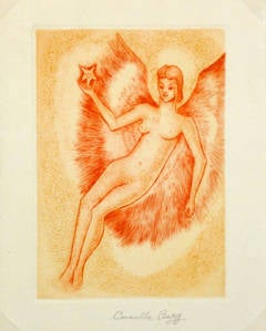 French Etching - Bright Angel