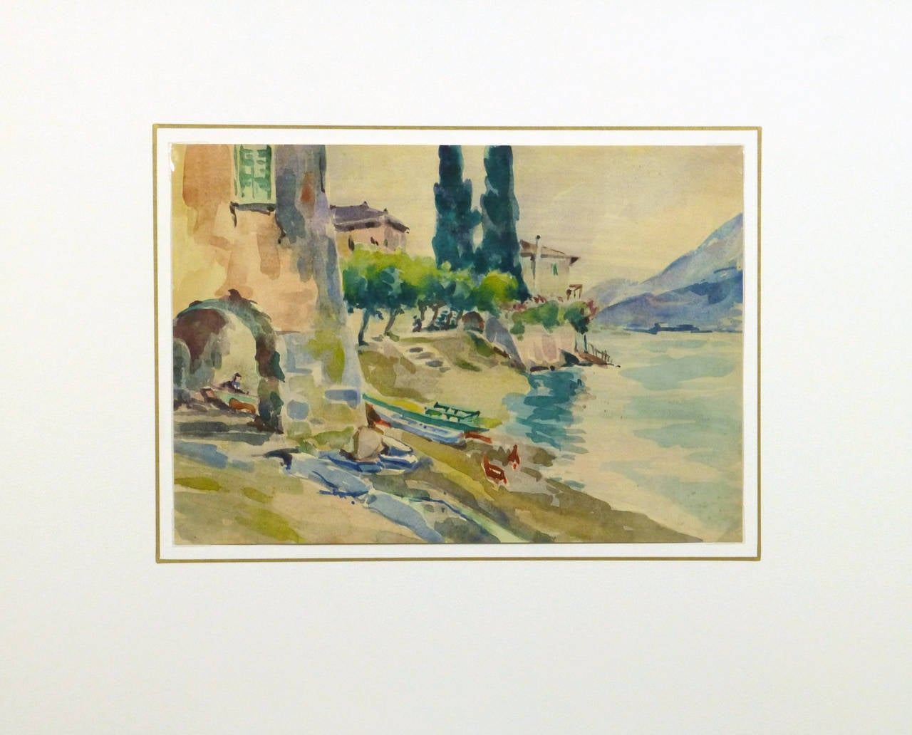 Furniture Stores In St Augustine Fl Roger Tochon - Vintage French Landscape - The Water's Edge ...