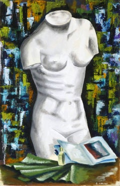 French Painting - Marble Torso