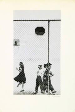 Vintage Photograph - Recess