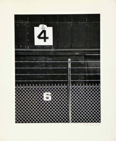 Vintage Photograph - Numbers