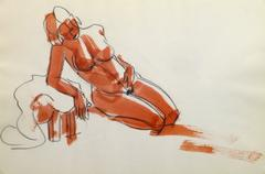 French Ink & Pencil - Sultry Nude