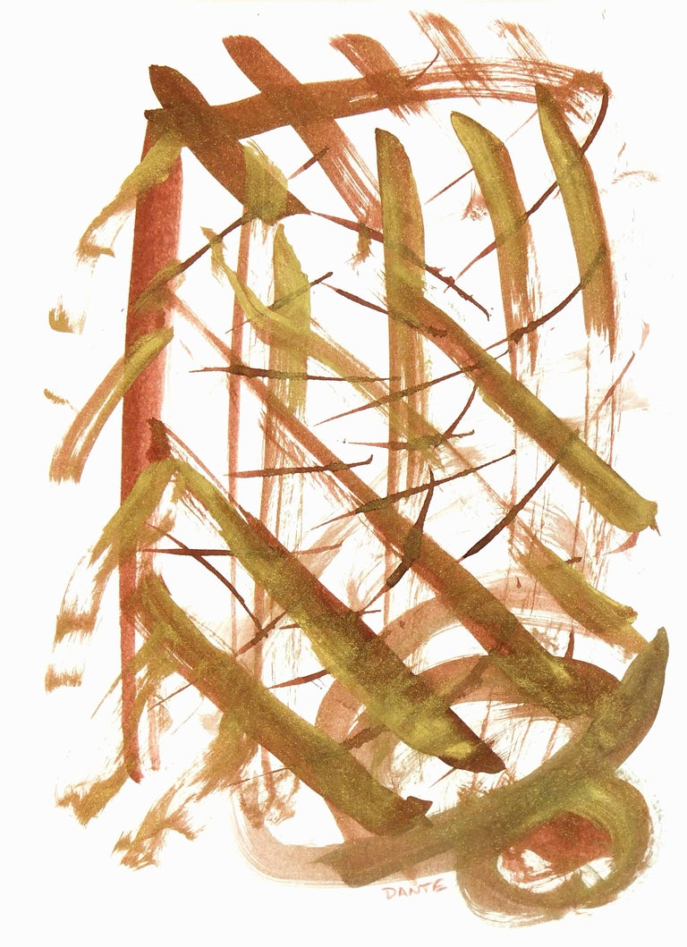 Dante Abstract Drawing - Abstract