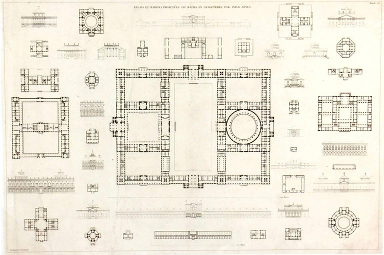British Palaces and Estates, 1800