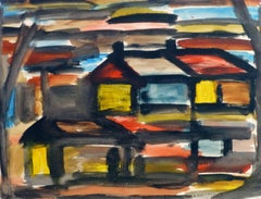Maisons Polychromes Abstract