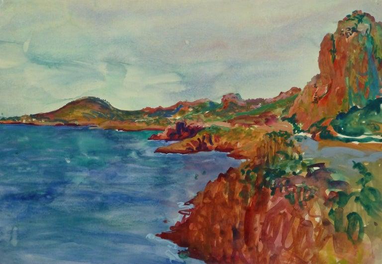 Stephane Magnard Landscape Art - Côtes de l'Estérel