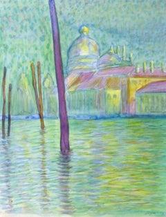 Watercolor Landscape - Venice