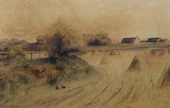 Vintage Watercolor Landscape - Low Country