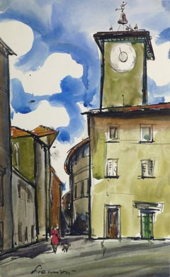 French Landscape - Provence Square