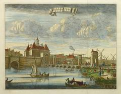 Antique Copper Engraving  - Amsterdam