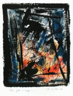 Modern Abstract - Passe Passe le Temps (Passing the Time)