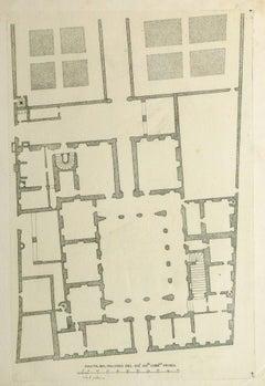 Antique Italian Engraving - Cardinal Spada Palace